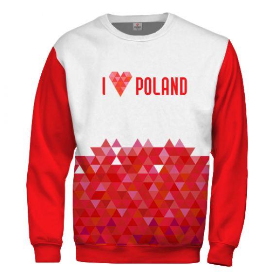 I love Poland Sweatshirt