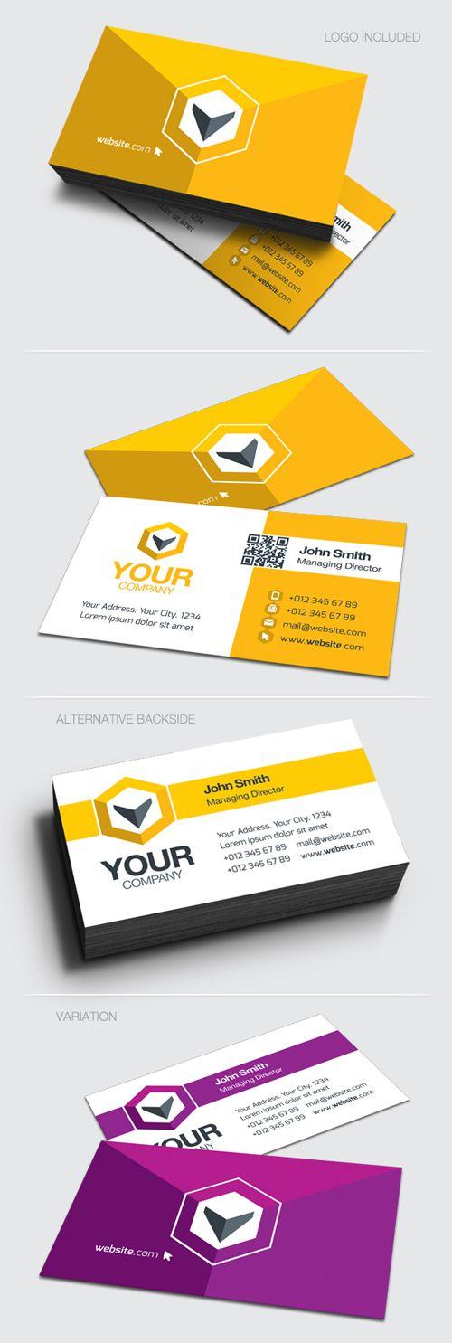 Clean Creative Business Card