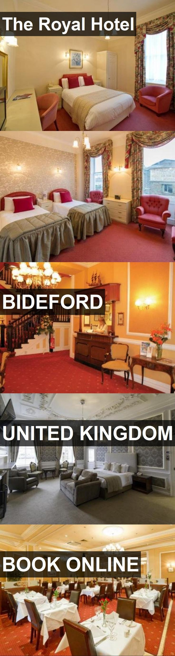 Hotel The Royal Hotel in Bideford, United Kingdom. For more information, photos, reviews and best prices please follow the link. #UnitedKingdom #Bideford #TheRoyalHotel #hotel #travel #vacation