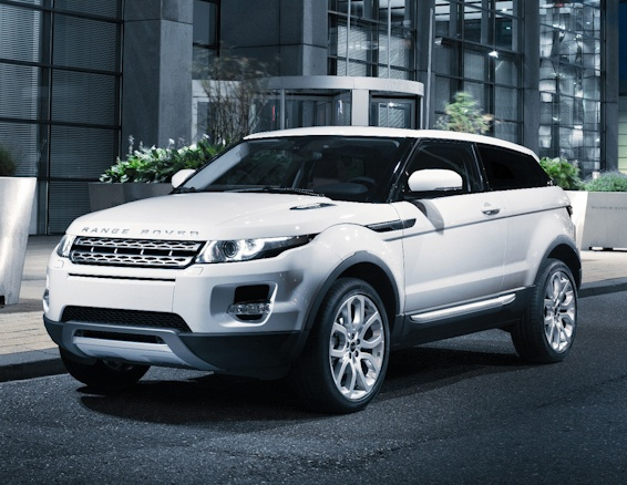Range Rover Evoque (Baby Range Rover!) Victoria Beckham helped design the interior, so smart!