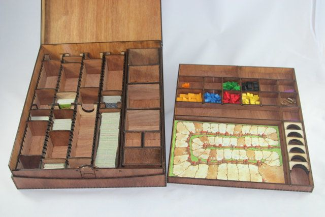 Carcassonne Big Box by BasicallyWooden on Etsy