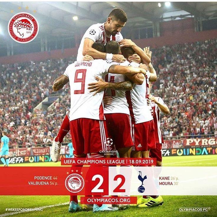 FULLTIME🔴 Très bonne opération pour l'Olympiakos qui