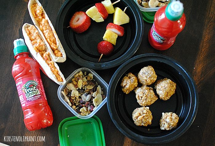 Kirten Oliphant shares A great picnic meal with Fruit Shoot
