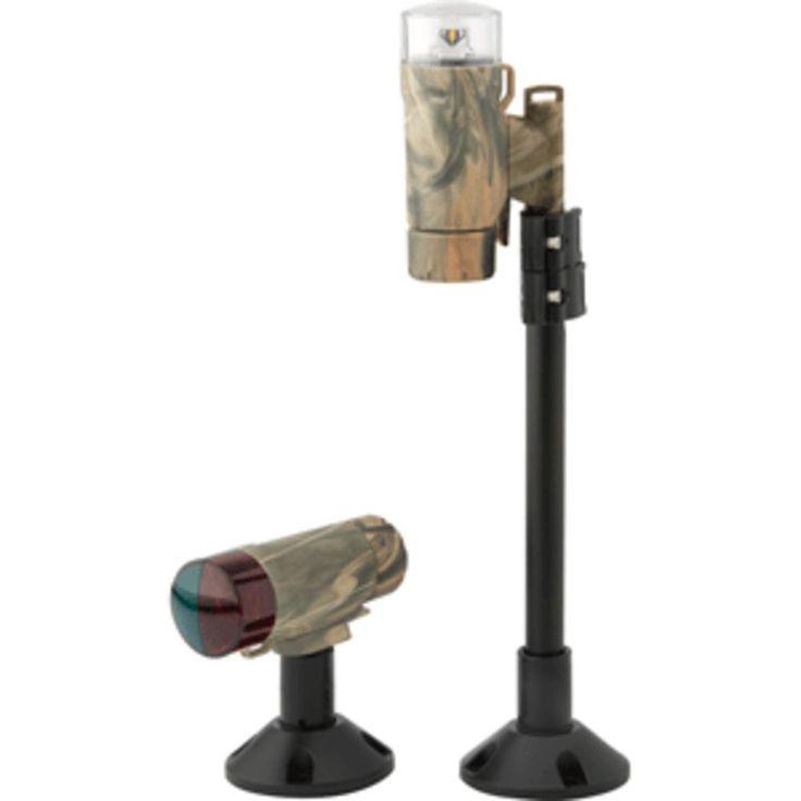 Attwood PaddleSport Portable Navigation Light Kit - Screw Down or Adhesive Pad - RealTree® Max-4 Camo