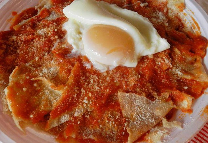 Pane frattau #tomato #eggs #carasau #bread #recipe #sardegna #sardinia