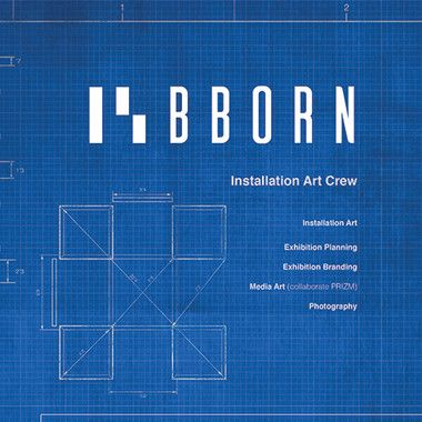 B.BORN Installation Art Crew Poster  edit ·   delete
