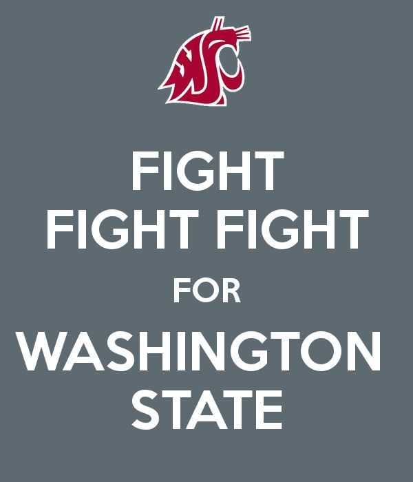 FIGHT FIGHT FIGHT FOR WASHINGTON STATE<3 #washingtonstate #wsu #wsucougars…