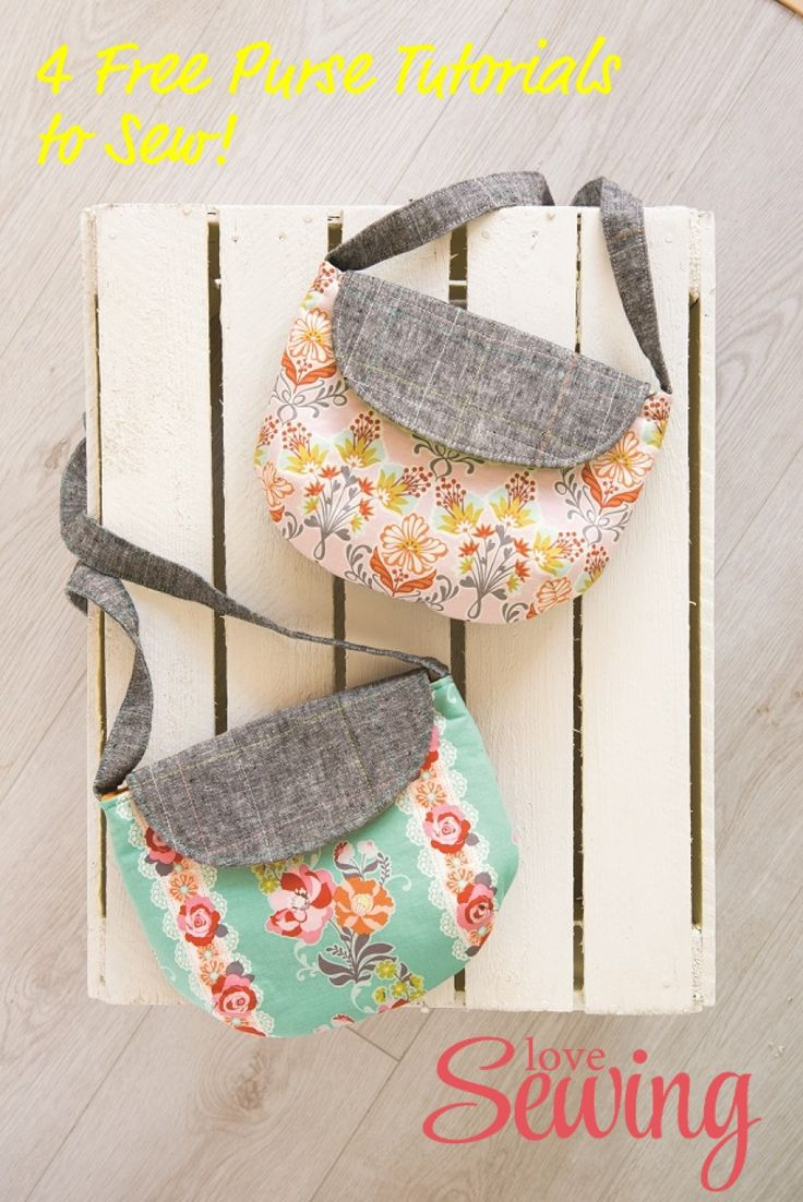 Free Purse Sewing Tutorials                                                                                                                                                                                 More