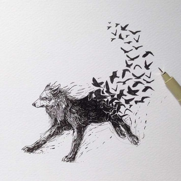 17 meilleures id es propos de tatouages de loup sur pinterest tatouages mod le de tatouage - Tatouage geometrique animaux ...