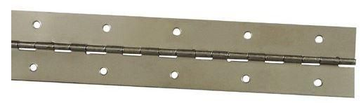 """Stanley 470760 Continuous Hinge, Bright Brass, 1-1/16"""" x 48"""""""