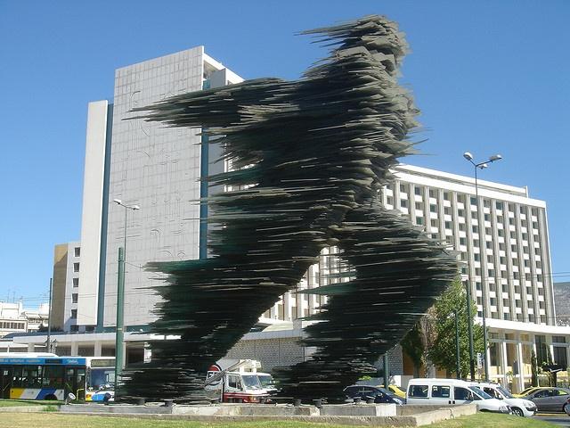 The runner, Hilton