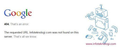 Desain Halaman Mistake 404 Google - http://psdesain.net/desain-halaman-error-404-google.html