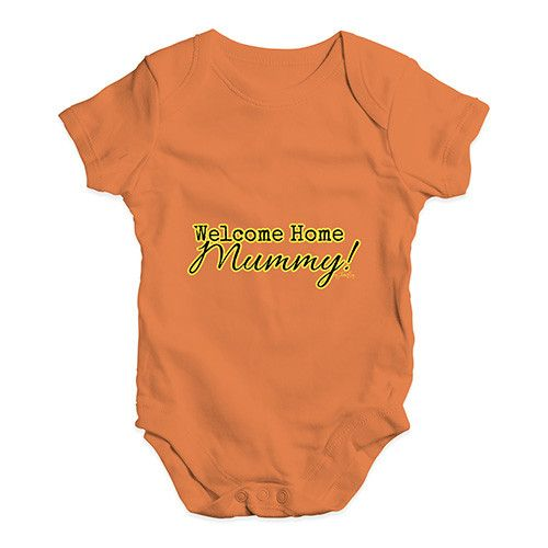 Welcome Home Mumm...  http://twistedenvy.com/products/welcome-home-mummy-baby-unisex-babygrow-bodysuit-onesies?utm_campaign=social_autopilot&utm_source=pin&utm_medium=pin   Shop for Amazing Art  Show your Creative side.  #Twistedenvy