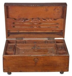 How to get the musty odor out of a jewelry box old for Musty smell in drawers