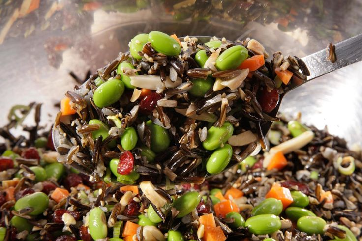 Wild Rice and Edamame Salad Recipe
