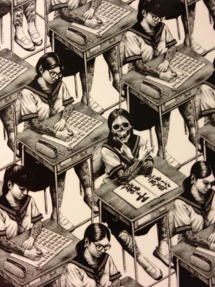 Schoolgirls.