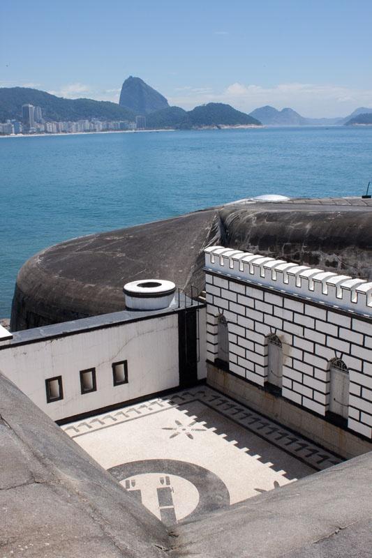 Forte de Copacabana, Rio de Janeiro, Brasil.