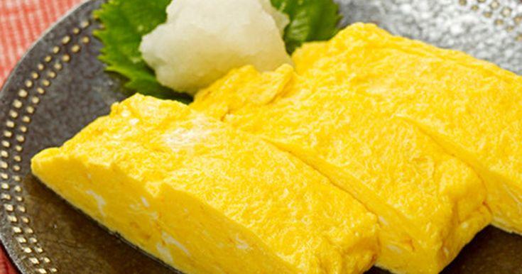 だしの風味たっぷりで、やわらかふわふわのだし巻き卵♪ほんのり甘い優しい卵の風味は、家族みんなが大好きな味!
