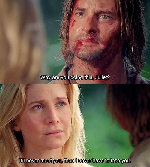 Juliet + Sawyer and i cry some more.