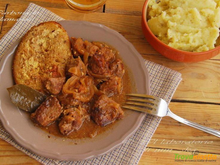 CARBONADE ALLA FIAMMINGA  #ricette #food #recipes