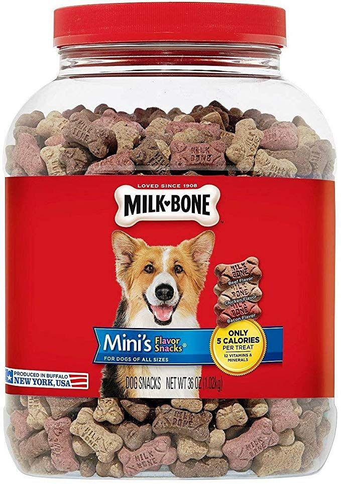 Milk Bone Mini S Biscuits Flavor Snacks Canister 36 Oz 2