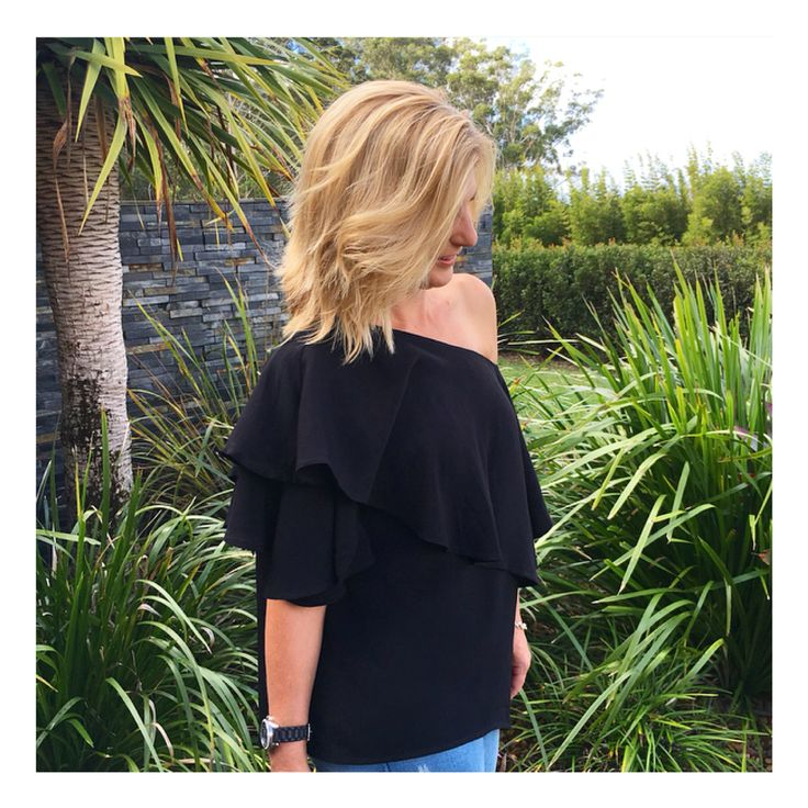 Arizona Ruffle Top online now @ www.bluesageclothing.com.au
