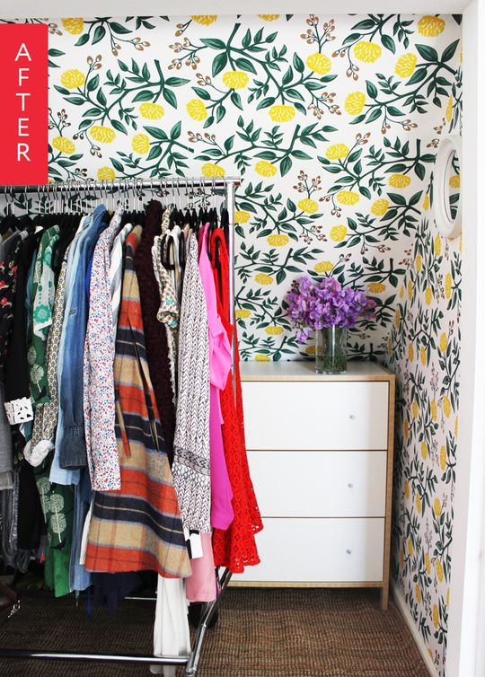 Before & After: A Charming Closet Makeover | Apartment Therapy