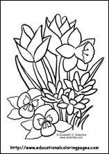 spring coloring pages free for kids - Spring Coloring Sheets Free Printable