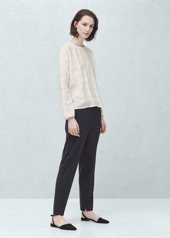 Anzughose aus Baumwolle
