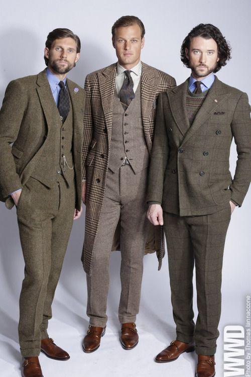 Ralph Lauren Men's RTW Fall 2013  Domestic Diva via Domestic Diva onto Fashion - Men Clothing