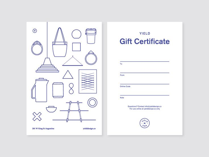 Yield Design Co. / Gift Card