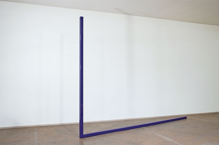 Gianni Piacentino, Blue-Purple Big L, 1966