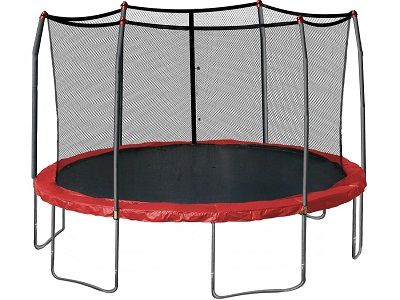 SkyWalker 12ft Trampoline - Check out review of SkyWalker Round Trampoline!