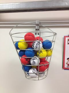 Brain Break Bucket-Sports Theme Classroom