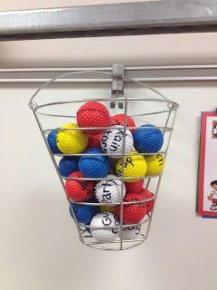 Brain Break Bucket-Sports Theme Classroom