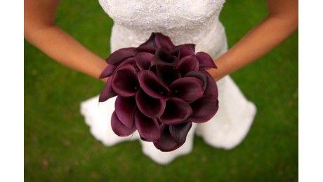 Bouquet de mariée Calla Lily - Fleurs de Mariage - France Fleurs