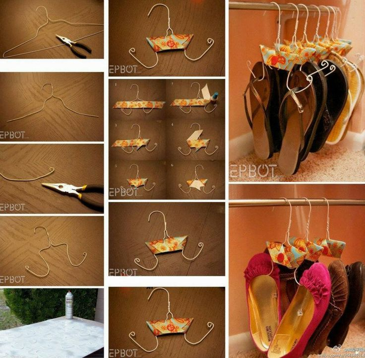 Mejores 141 imgenes de ideas en pinterest buenas ideas ideas how to make hanger to store shoes step by step diy tutorial instructions how to solutioingenieria Choice Image
