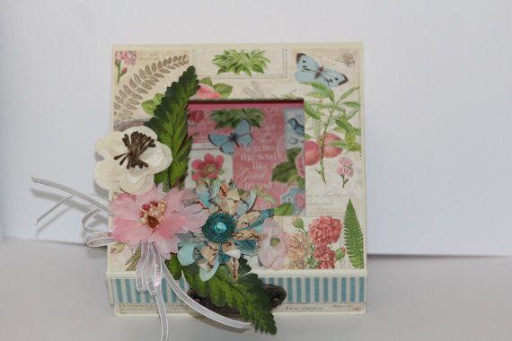 Tea Time Mini Scrapbook in a Box