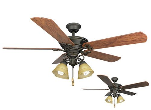 Menards Ceiling Fans : Turn of the century viente in light ceiling fan at