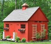 Great design ideas for building the new shed...The Gambrel