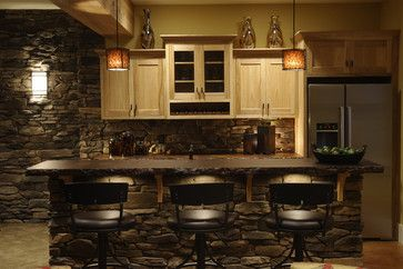 Ackerly Park ~ New Albany, Ohio - traditional - basement - other metro - by Weaver Custom Homes