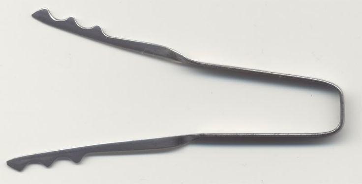 300 best lockpicks images on pinterest lock picking for Lock pick rake template