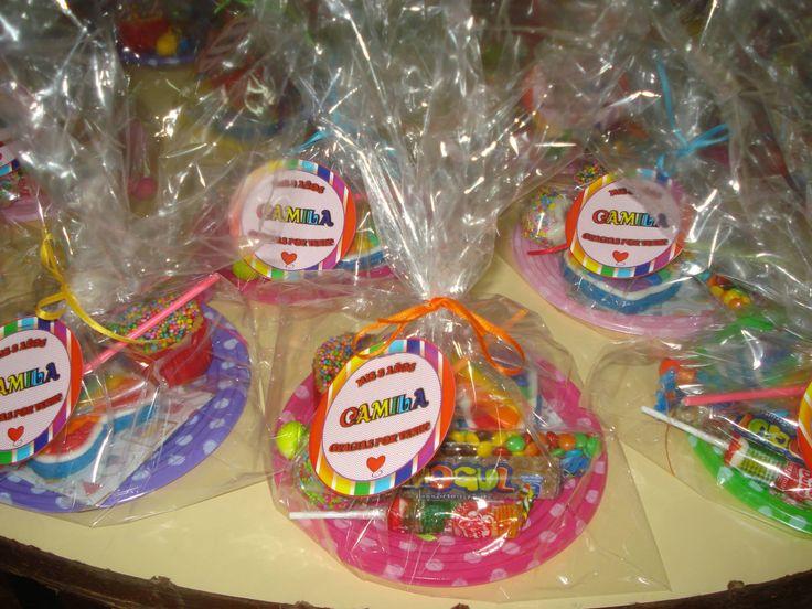 Presentes dulces y coloridos