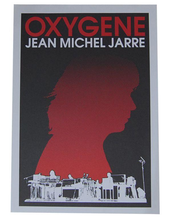 Jean Michel Jarre (Oxygene) Poster