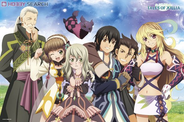 Tales of Xillia main characters