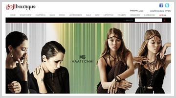 gojiboutique aims to provide the cultured and fashion savvy women of the Middle East with diverse, unique and avant-garde fashion designers.  http://www.octalsoftware.com/portfolio/portfolio-by-technology/magento-portfolio