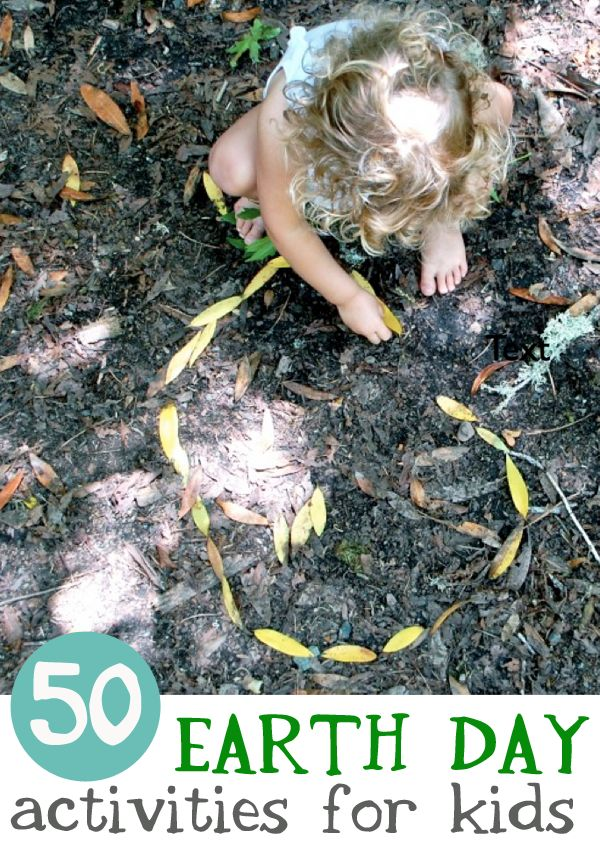 50 Earth Day Activities for kids - April 22