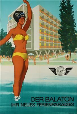 Der Balaton - Ibusz - 1950's -