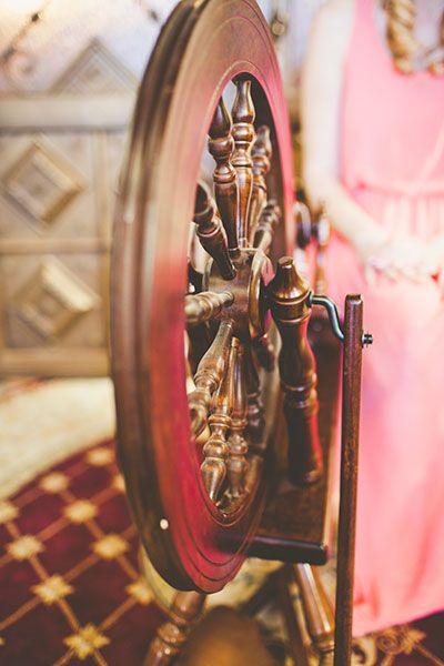 sleeping beauty wedding inspiration