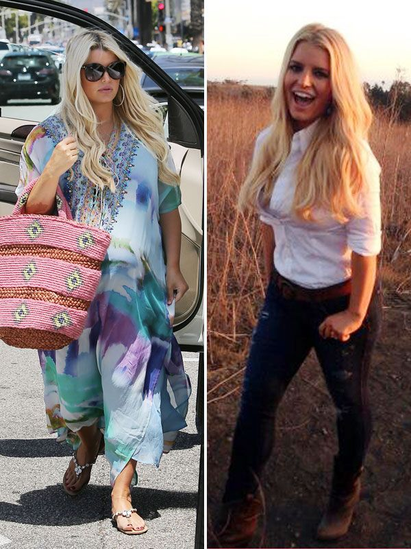 Jessica Simpson: Her Exact Pregnancy Weight-Loss Diet Revealed